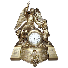 "The ""Guardian"" Angel Clock made by the Seth Thomas Sons & Co. produced from 1865 to 1876 !!!"