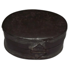 Civil War Period Snuff Tin !