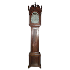 "Signed ""Samuel Breneisen * Reading"" Pennsylvania Walnut Tall Case Clock Circa 1789 to 1799 !!!"