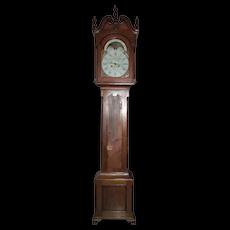 """""""Samuel Breneisen * Reading"""" Pennsylvania Signed Walnut Tall Case Clock Circa 1789 to 1799 !!!"""