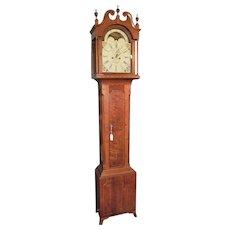 """Signed """"David Gobrecht * Hanover"""" Pennsylvania Cherry & Tall Case Clock made Circa 1800 to 1820 !!!"""