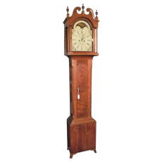 "Signed ""David Gobrecht * Hanover"" Pennsylvania Cherry & Tall Case Clock made Circa 1800 to 1820 !!!"