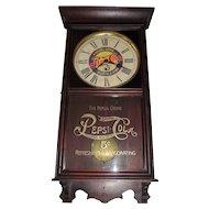 """Pepsi-Cola"" Advertising Store Regulator made by Wm. Gilbert Clock Co. circa 1935 !!!"