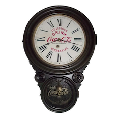 """Advertising Clock from the """"Boston Coca-Cola Bottling Company"""" !"""