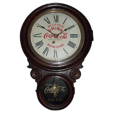 "Advertising Clock from the ""Omaha Coca-Cola Bottling Company"" !"