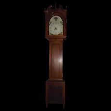 Federal Tall Case Clock originating from Berks County Pennsylvania Circa 1816- 1821 !