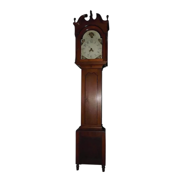 Federal Tall Case Clock originating from Berks County Pennsylvania Circa 1816- 1821 !