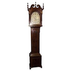 "Early ""Richard Chester * Hanover"" Pennsylvania Cherry Tall Case Clock circa  1790's !!!"