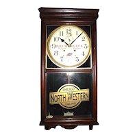 """Chicago Northwest Railroad"" Watch Repairman's Advertising Clock !!!"