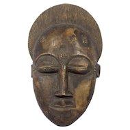 Vintage Wooden African Mask