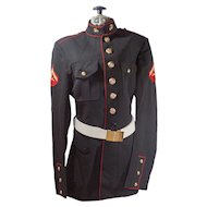 Vintage United States Marine Corps Dress Blues Jacket