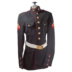 Vintage United States Marine Corps Dress Blues Jacket