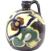 Vintage Japanese Gouda Style Jug Vase