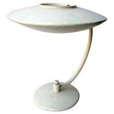 1950's UFO Dazor Lamp With Fiberglass Shade MCM Mid Century Modern Desk Lamp Table Lamp Reading Lamp