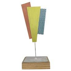 Postmodern Geometric Sculpture