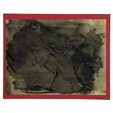 John Boyce Signed 1966 Ink on Paper Nude