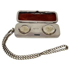 German Silver Small Engravable Change Purse