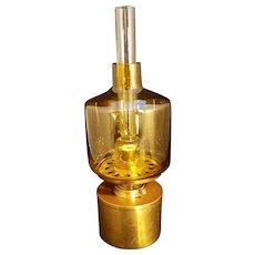 Mid Century Hans Agne Jakobsson Modernist Swedish Oil Lamp