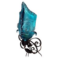 Italian Made Murano Face/Mask Light Sconce by Martinuzzi for Cenadese