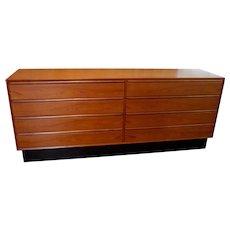 Westnofa Danish Modern Lowboy Dresser Credenza Sideboard TV Console