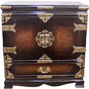 Vintage Asian Jewelry Box