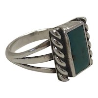 Sterling Turquoise Native American Ring