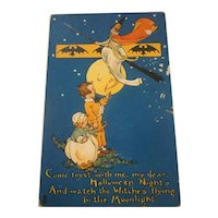 Vintage Tucks Halloween Postcard Series 197
