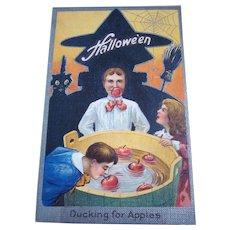 Vintage Halloween Postcard Series #2