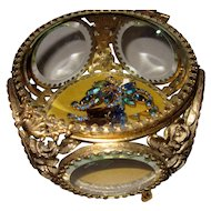 Vintage Jewelry Box or Casket 5 sided