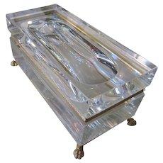 Vintage Mandruzzato Murano Glass Box