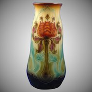 "Royal Bonn Germany ""Pomegranate Flower"" Vase (c. 1880-1923)"