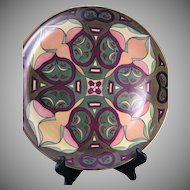"Hutschenreuther Selb Bavaria Abstract Design Charger/Plate (Signed ""A.M.T""/c.1920-1940)"