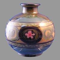 Royal Bonn Germany Tube-Lined Floral & Scroll Design Vase (c.1890-1923)