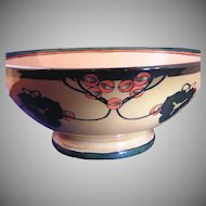 Delinieres & Co. (D&Co) Abstract Berry Design Centerpiece/Punch Bowl (c.1894-1930)