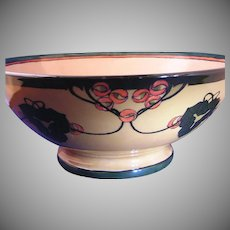 D&Co. Abstract Berry Design Centerpiece/Punch Bowl (c.1900-1930)