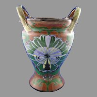 "Royal Bonn Franz Mehlem Germany ""Old Dutch"" Vase (c.1890-1923)"