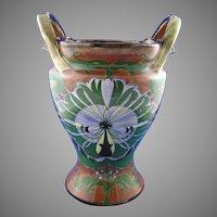 "Royal Bonn Franz Mehlem Germany ""Old Dutch"" Vase (c.1890-1923)"