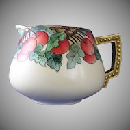 Classic Bavaria Apple Motif Cider/Lemonade Pitcher (c.1910-1930)