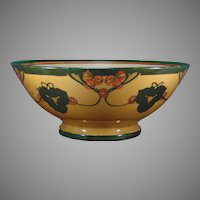 D&Co. Limoges Abstract Berry Motif Centerpiece/Punch Bowl (c.1900-1930)