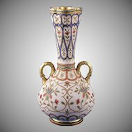 "Royal Bonn Islamic Motif  ""Jaypora"" Tapestry Vase (c. 1890's)"