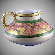 JP Limoges Maple Leaf Motif Pitcher (c.1890-1932)