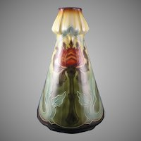 "Royal Bonn Germany ""Pomegranate Flower"" Vase (c. 1880-1923)"
