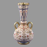 "Royal Bonn ""Jaypora"" Design Tapestry Vase (c. 1890's)"