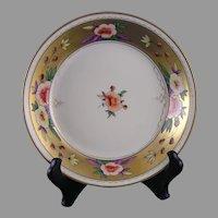 """Pickard Studios Floral Design Bowl (Signed """"FV""""/c.1903-1905)"""