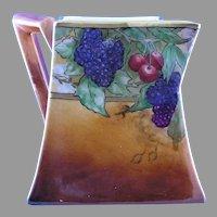"""B&Co. Limoges Fruit Design Pitcher (Signed """"N. Spera""""/c.1900-1914)"""