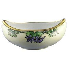 Hutschenreuther Uno Bavaria Violet Motif Bowl/Dish (c.1900-1930)