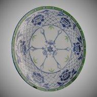 Oscar & Edgar Gutherz (O&EG) Austria Floral Design Plate (c.1899-1920)