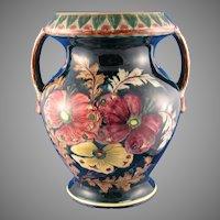 "Royal Bonn Germany ""Old Dutch"" Pansy Design Vase (c.1890-1923)"