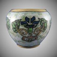 Pfeiffer & Lowenstein (P&L) Austria Lustre Floral Design Vase (c.1914-1918)