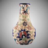 "Austrian Amphora Arts & Crafts ""Paisley"" Motif Vase (c.1900-1905)"